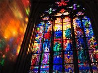 艺术彩绘玻璃要如何制作  艺术玻璃料着色加工原理