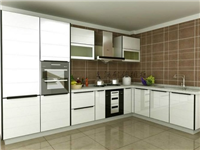 厨房橱柜用的是什么玻璃  晶钢玻璃门板有什么优点
