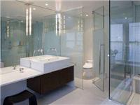 卫生间玻璃隔断如何安装  玻璃隔断为何用磨砂玻璃