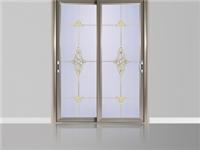 铝合金暗花玻璃门是怎么制作的  玻璃折叠门有什么优点