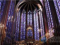 教堂为什么都用彩色玻璃做窗户  教堂彩色的花玻璃是怎么做的