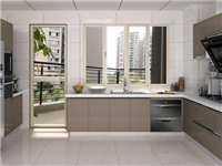 厨房橱柜玻璃门好不好  厨房的橱柜门用钢化玻璃好不好
