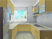 厨房橱柜门用什么玻璃  晶钢门板的优点