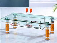 茶色玻璃家具的挑选方法  玻璃餐桌使用时要注意什么