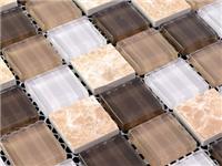 玻璃马赛克怎样拼贴施工  水晶玻璃马赛克效果如何