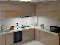玻璃面板做橱柜是否合适  玻璃表面可不可以贴墙纸