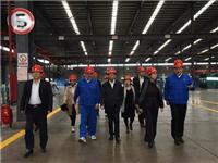 中国建材集团孙力实副书记到龙昊玻璃调研