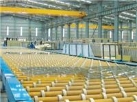玻璃熔窑澄清部、供料槽、蓄势室结构及各部位所用耐火材料