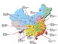 国内6代以上OLED产线分布地图