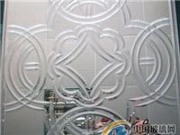 磨砂玻璃和刻花玻璃的区别  表面有花纹的玻璃是什么