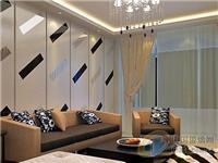 客厅沙发背景墙该怎么设计  立体玻璃背景墙有什么特点