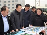 博山区委书记刘忠远调研日用玻璃特色小镇项目建设情况