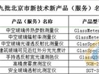 奥博泰七项产品荣获北京市新技术新产品!