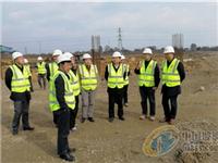 中国建材工程集团领导到甘眉工业园区铜铟镓硒薄膜太阳能项目调研