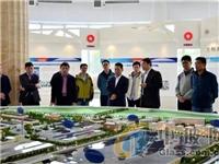 上海飞机制造公司代表团到蚌埠院参观访问