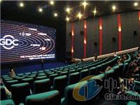 中外记者体验全球LED屏电影屏