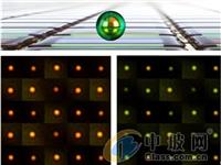剑桥大学研究出了像素仅有主流百万分之一大的柔性彩色显示屏