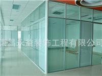玻璃隔断材料可用哪几种  办公室玻璃墙隔怎么安装