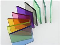 玻璃内部用什么来染色的  玻璃是用沙子做出来的吗
