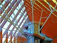世园会中国馆高科技:屋架上的金色光伏玻璃,既美观又能发电