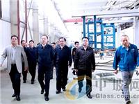 李江河到浮法玻璃厂督导环保督察整改工作