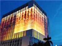 惊艳视界的LED玻璃透明屏