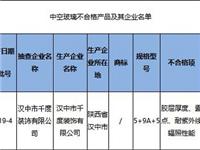 陕西省市场监管局抽查中空玻璃样品30批次 不合格1批次