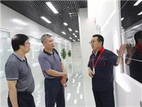 中国建材集团工会主席王于猛到成都中建材调研