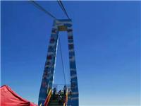 鄂尔多斯网红玻璃天桥对外开放