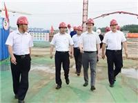 凯盛科技集团领导赴中联玻璃检查督导安全及生产经营工作