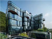 玻璃幕墙建筑设计欣赏  香港浅水湾住宅 PULSA / Aedas