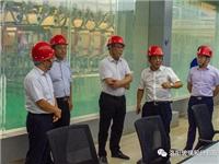 河南省上市公司监管局局长王广幼 莅临龙海玻璃调研指导工作