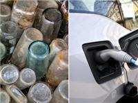 新型研究:将玻璃瓶转化为电动汽车电池