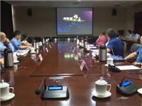中国玻璃器皿之都复评专家组一行来祁县进行复评