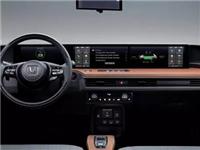 全景数字仪表板!Honda e五块显示屏自由切换