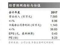 华泰证券:旗滨集团买入评级