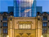 6座历史建筑的玻璃屋顶扩建