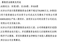 拟募集73亿,天马加码武汉6代OLED生产线二期项目