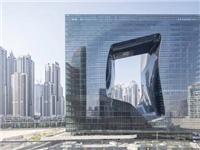 """扎哈事务所新作""""迪拜奥普斯酒店"""", 将玻璃幕墙运用到极致!"""