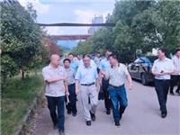 江西省应急管理厅调研组深入浮法玻璃厂督导调研