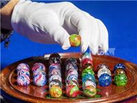 维多利亚时代玻璃弹珠将被拍卖 色彩绚丽价格高昂