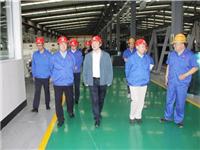 凯盛科技集团领导到佳星玻璃检查指导安全生产工作