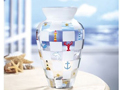 春日梦幻五彩玻璃花瓶