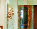 艺术玻璃幻化出七彩的光芒