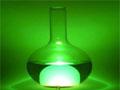 实验光的颜色 LED发光玻璃瓶