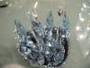 水晶天鹅 水晶结婚礼品