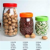供用玻璃储物罐