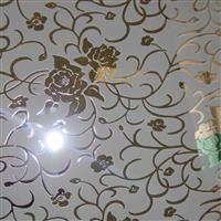 装饰玻璃公司供应镀镜烤漆玻璃,凹蒙玻璃,茶玻镀镜复合工艺