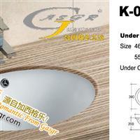 供应陶瓷洁具台下盆,创新环保,质比恒洁,潮州加西格乐