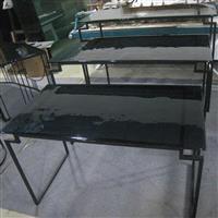 玻璃布菲台,玻璃布菲桌,酒店用品,酒店餐台。